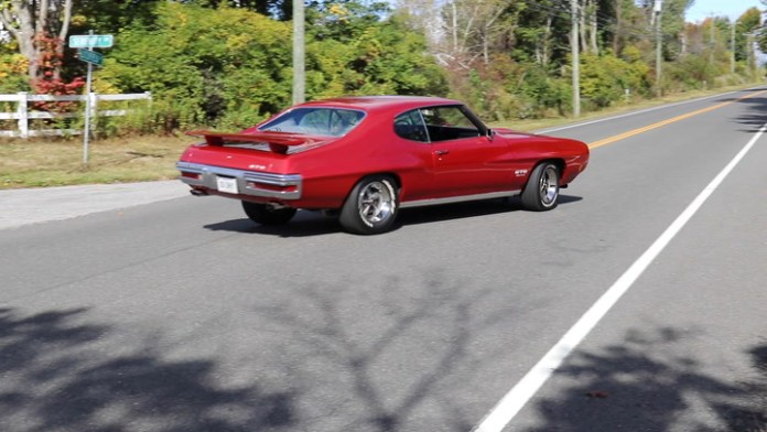 Greg DeFazio of Watertown, Conn. owns a 1970 Pontiac GTO that's nearly the same as the 1970 Pontiac GTO that his father, Mike, owned during his teens. His father's GTO is now in a museum whereas his is often out on the road.