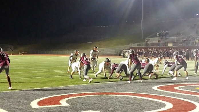 Watertown beats Naugatuck on this TD pass