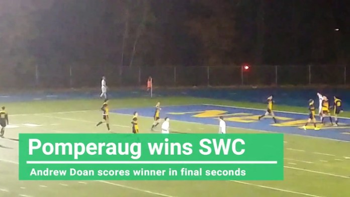 Pomperaug wins SWC title on this goal