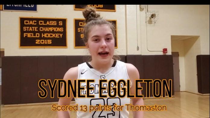 Thomaston's Sydnee Eggleton