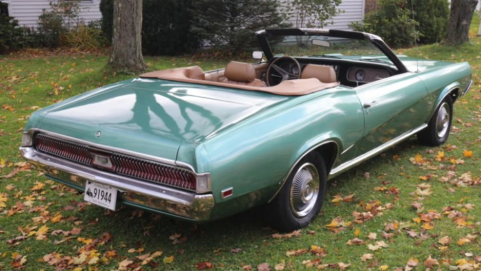 Gregg Grahn of Goshen, Conn. owns a 1969 Mercury Cougar XR-7 convertible that has passed through three other members of his family after first being severely damaged by fire. He shares it in My Ride.