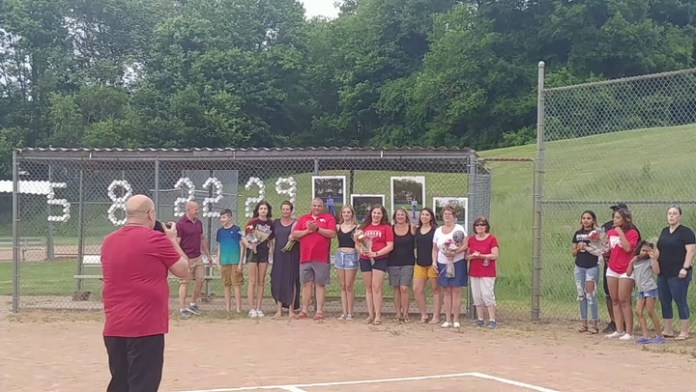 Four Eagles recognized in Wolcott.