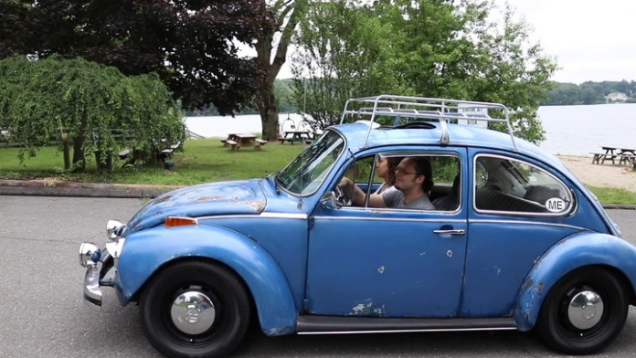 Jay Callahan of Watertown, Conn. owns a 1975 Volkswagen Super Beetle that has faded paint, bare spots and rust ... and it looks gorgeous. He shares it in My Ride.