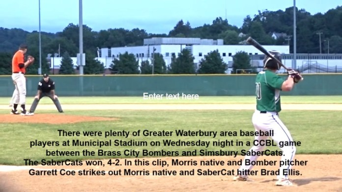 Bombers vs. SaberCats in CCBL action