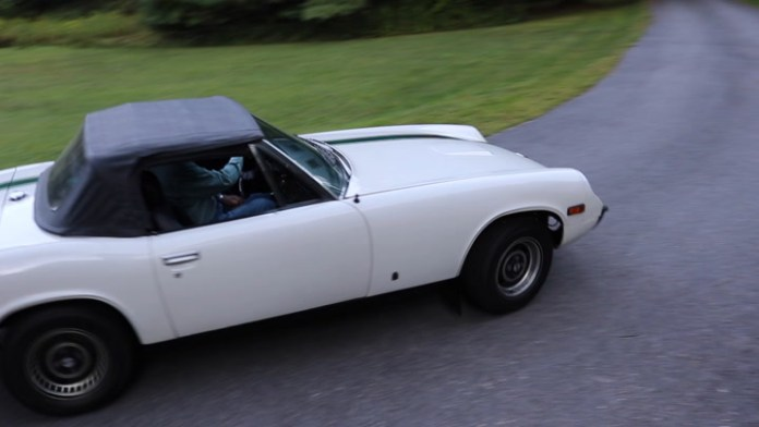 Roger Kane of Cornwall, Conn. has owned a 1973 Jensen Healey Mk I for about 10 years but now he's donating it to the Milton Congregational Church for a raffle. He explains in My Ride.