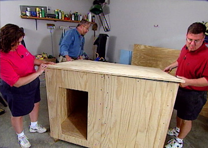 How to Build a Custom Insulated Dog House     DIY Projects   Videos