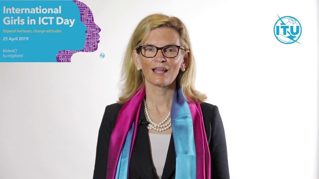Girls in ICT Day 2019 Video Message (French)