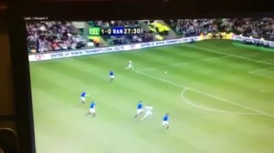 Goal Video Celtic v Rangers for article Neil Lennon-The Short-Tempered, Shrewd Tactician – Nathan Sweeney