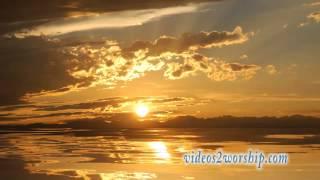 Still Waters: Sunset Worship Background