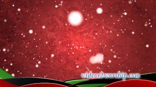 Ice And Snow Christmas Video