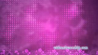 Pink Worship Motion Video Loop