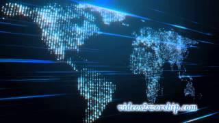Animated World Map Motion