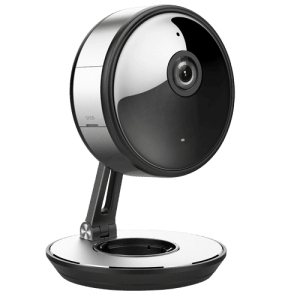 "Wi-Fi IP Camera 3 Megapixel - 1/3"" Progressive Scan CMOS - Compressione H.265+ / H.265 - Lente grandangolare 180º - IR LEDs portata 10 m - CMS e App per Smartphone / Tablet (Safire Connect)"