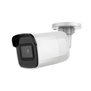 Telecamera IP 8 Megapixel - Sensore Ultra Low Light - Compressione H.265+ / H.265 - Lente 2.8 mm | WDR - IR LEDs portata 30 m - IP67 | IK10