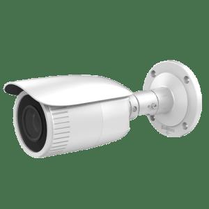 "Telecamera Bullet IP 4 Megapixel - 1/3"" Progressive Scan CMOS - Compressione H.265+ / H.265 - Lente motorizzata 2.8~12 mm Autofocus - Matrix IR Portata 30 m - IP67 | WDR | Audio | Allarmi"