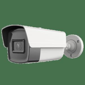 "Cámara Bullet IP 4 Megapixel - 1/3"" Progressive Scan CMOS - Compresión H.265+ / H.265 / H.264+ / H.264 - Lente fija 6.0 mm | WDR (120 dB) - Matrix IR Alcance 30 m - IP67"