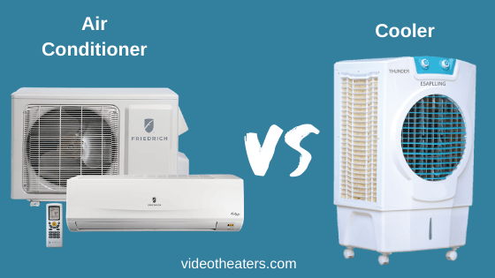 Difference between AC and Cooler