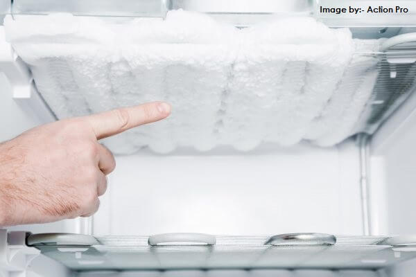 Defrosting in Refrigerator