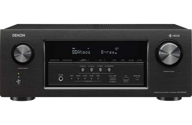 Denon AVRS930H 7.2 Channel AV Receiver