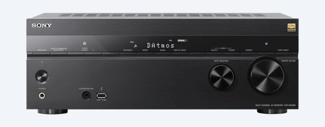 Sony STR-DN1080 7.2-ch Surround Sound Home Theater AV Receiver