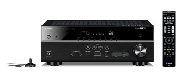 Yamaha RX-V583BL 7.2-Channel 4K Ultra HD MusicCast AV Receiver