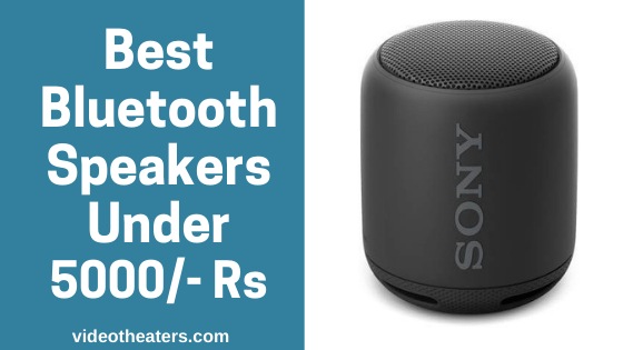 5 Best Bluetooth Speakers Under 5000 Rs in India