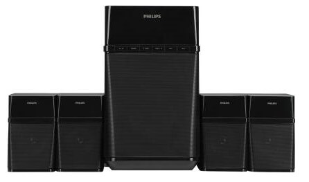 Philips SPA8180B 4.1 Channel Multimedia Speakers