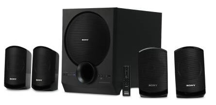 Sony SA-D40 4.1 Channel Multimedia Speaker System