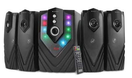 Zebronics Zeb-Samba 4.1 Multimedia Speaker