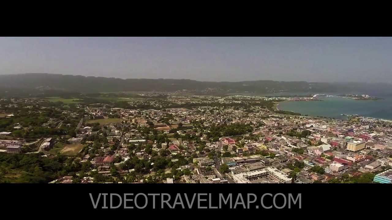 Wideo z Drona nad Montego Bay Craft Market