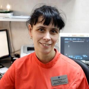 Зуева Наталья Михайловна. Ветеринарный врач. Кандидат биологических наук. Специалист в области ультразвуковой диагностики.
