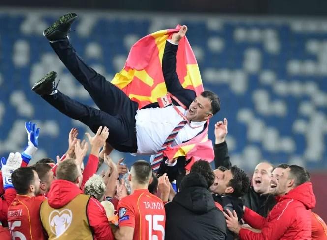 Македонија на европско