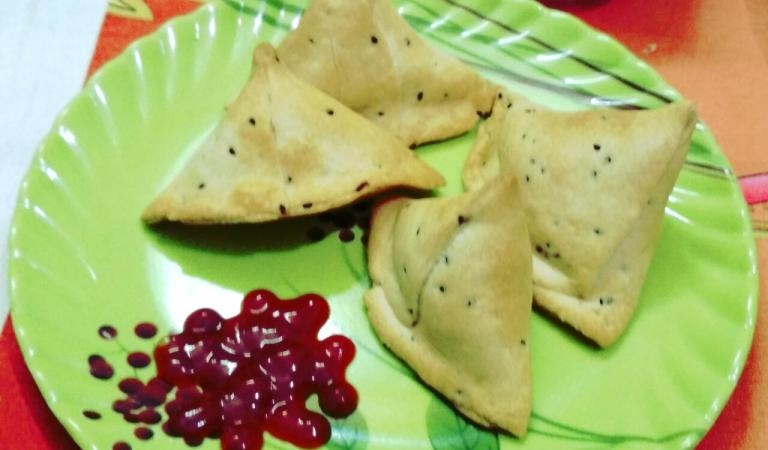 Cocktail Samosa Recipe With Airfryer/Healthy Fryer/Oxy Fryer