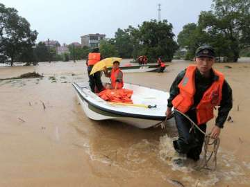 China floods to hit US economy: Climate effects through trade chains, VidLyf.com