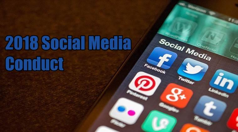 2018 Social Media Conduct
