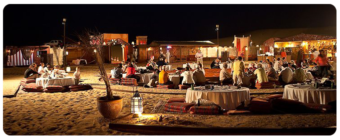 A Fascinating Night in An Exotic Arabian Desert!