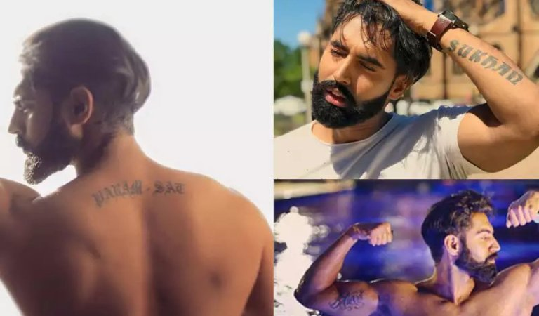 These Punjabi Celebrities Have Killer Tattoos