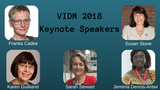 VIDM 2018 Keynote Speakers