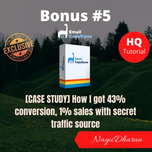 Email CopyDyno Bonus 5