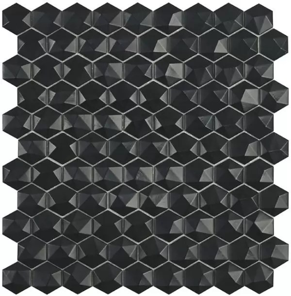 903d Matt Black Hex