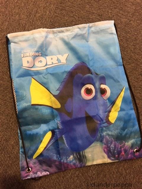 Disney gympose der Dory smiler til deg!