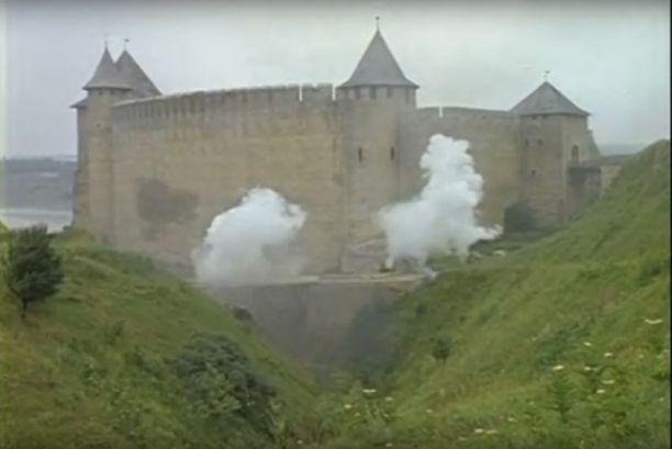 "Кадр з фільму ""Д'Aртаньян і три мушкетери"""