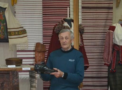 Hutsul boots in Kosiv museum