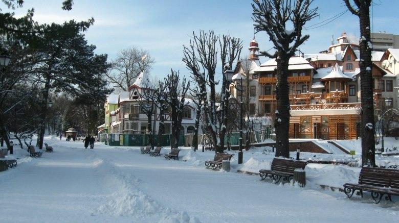 Зимовий Трускавець