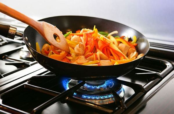 Как выбрать сковороду для газовой плиты с учетом ...
