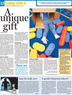 A unique gift - Page 01