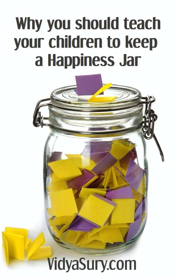 Why you should teach your children to keep a happiness jar