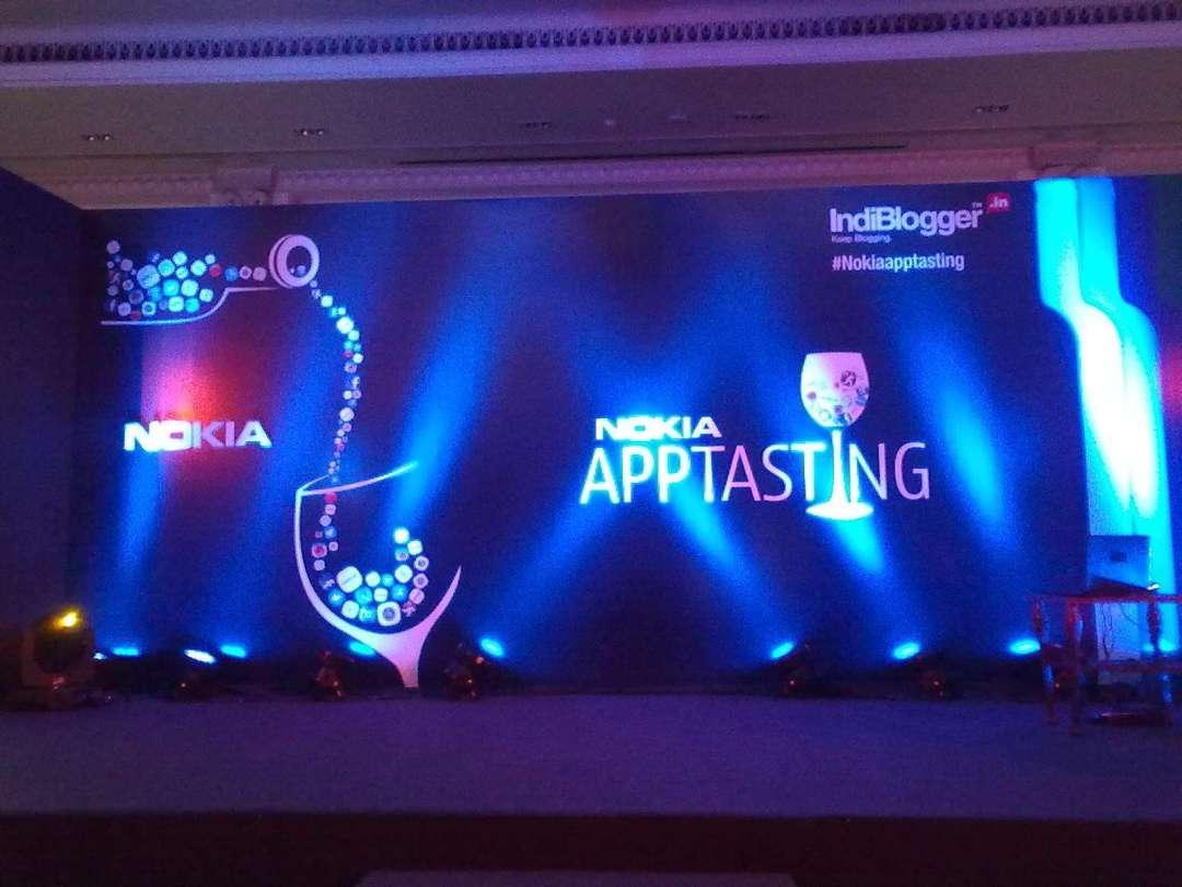 Nokia Indiblogger apptasting