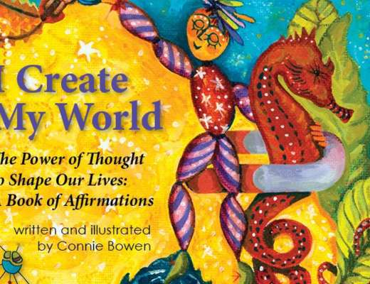 I create my world by Connie Bowen #Bookreview #kidsbooks