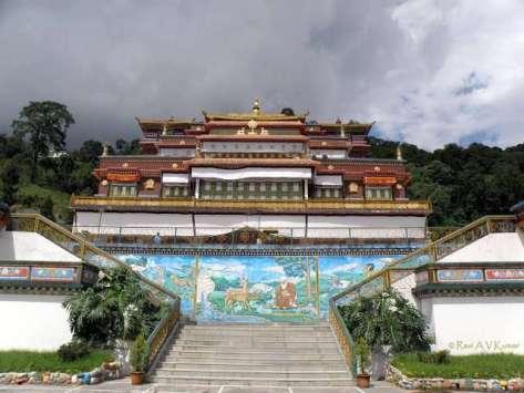 Rumtek Monastery happy hours